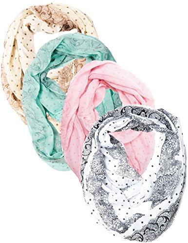 caramel-cantina-polka-dot-floral-vintage-feel-super-soft-infinity-scarf-one-size-mint-tan-pnk-wh