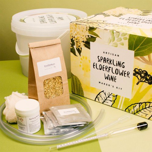 Le kit Artisan Cafetière Sparkling Sureau vin de