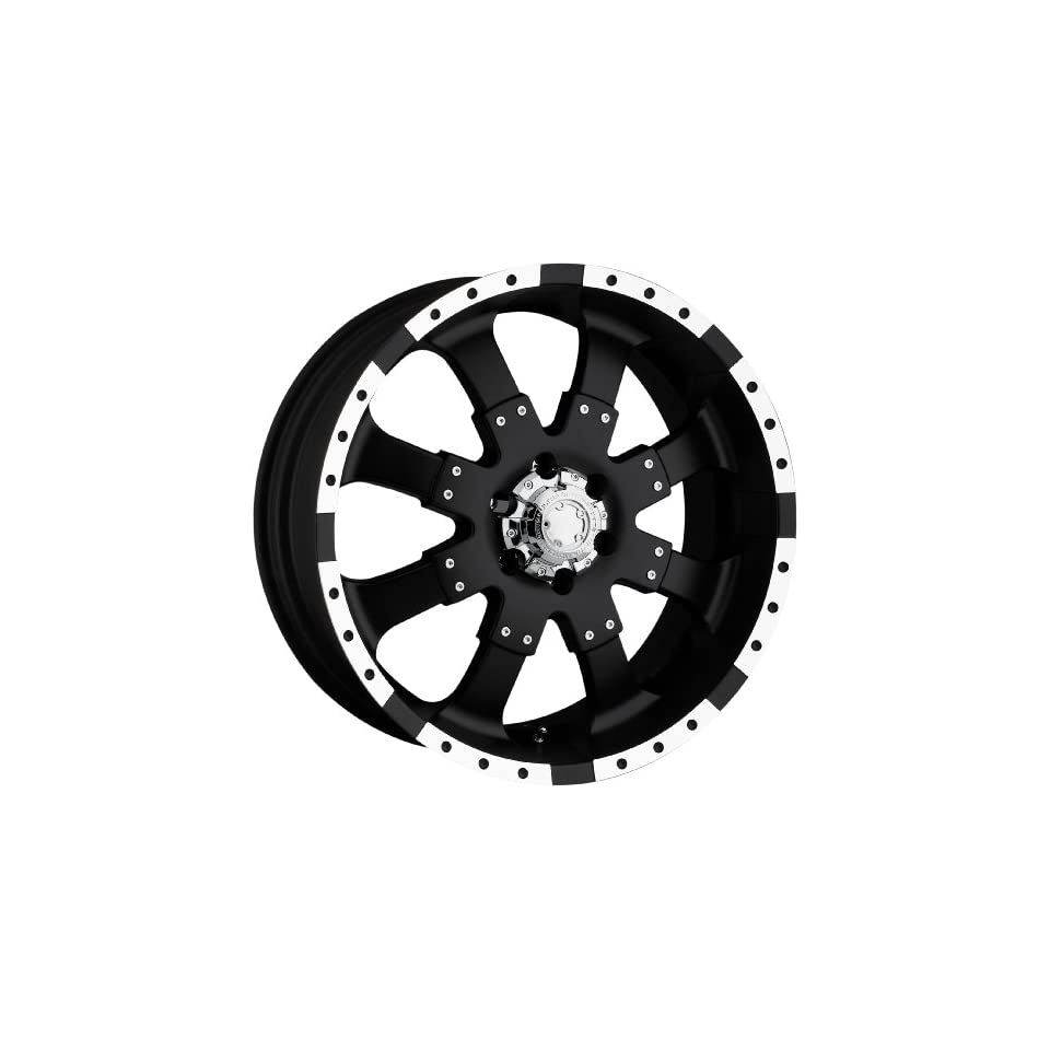 Ultra Wheels Goliath RWD Type 223/224 Matte Black Wheel with Diamond Cut (22x9.5/8x4.5)