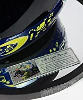Valentino Rossi Signed 2008 Mugello Face Helmet - Autographed NASCAR Helmets