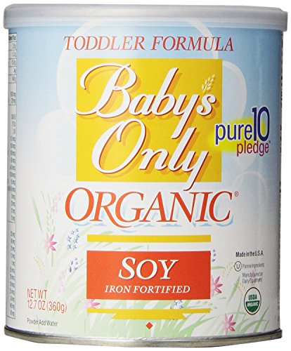Babys Only Soy Organic Toddler Formula, 12.7-Ounce Canister (Pack of 2) - 1