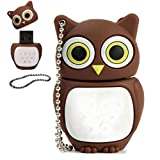 Mchoice Cartoon Owl USB 2.0 Flash Enough Memory Stick Storage Thumb U Disk 32GB /16GB/8GB/4GB/2GB/1GB (16GB)