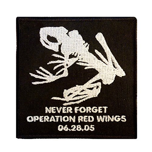 Operation Red Wings Never Forget Lone Survivor SDVT-1A Skull Frog Navy Seals Velcro Patch (Navy Seals Airsoft compare prices)
