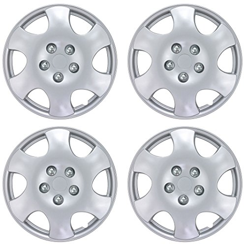 BDK Toyota Corolla Hubcaps Wheel Cover, 15