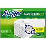 Swiffer Sweeper Dry Sweeping Cloth Refills, 48 Count