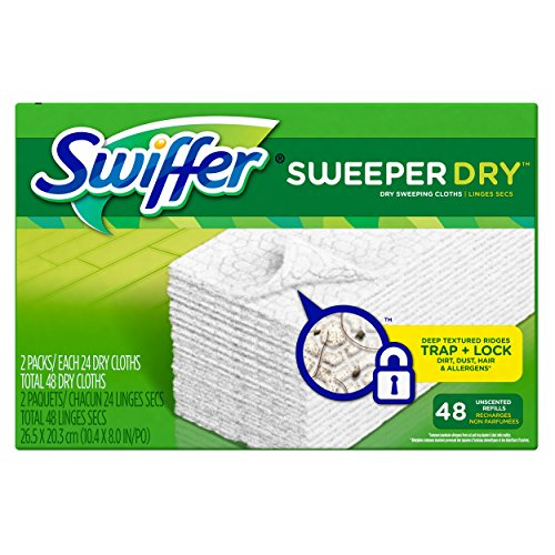 Swiffer Sweeper Dry Sweeping Cloth Refills, 48 Count (Swiffer Sweeper Dry compare prices)