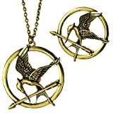 Via Mazzini Famous Hunger Games Mockingjay Necklace And Brooch For Men And Wo...