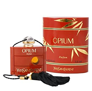 Opium By Yves Saint Laurent For Women Perfume,  0.25-Ounces