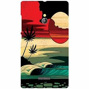Back Cover For Nokia XL RM-1030/RM-1042 -(Printland)