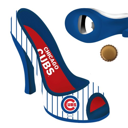 Chicago Cubs High Heel Shoe Bottle Opener (Stiletto Bottle Opener compare prices)