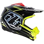Troy Lee Designs Team SE3 Off-Road/Dirt Bike Motorcycle Helmet - Black / Medium