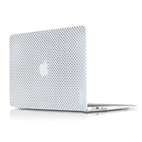 "Incase Perforated Hardshell Case For 13"" Macbook Air - White - Cl57889"
