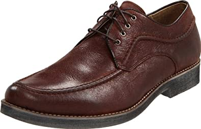 Hush Puppies Men's Commemorate Oxford,Dark Brown Leather,9.5 M US
