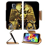 Gold Egypt Pharaoh Coffin Sarcophagus Samsung Galaxy S5 Sm-G900 Flip Cover Case With Card Holder Customized Made To Order Support Ready Premium Deluxe Pu Leather 5 13/16 Inch (148mm) X 2 1/8 Inch (80mm) X 5/8 Inch (16mm) Liil S V S 5 Professional Cases Accessories Open Camera Headphone Port Lcd Graphic Background Covers Designed Model Folio Sleeve Hd Template Designed Wallpaper Photo Jacket Protector Micro Sd Wireless Cellphone Cell Phone