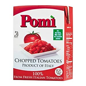 Pomi, Tomatoes Chopped, 12 - 26 Ounce Boxes (Case)