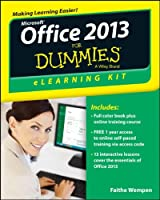 Office 2013 eLearning Kit For Dummies Front Cover