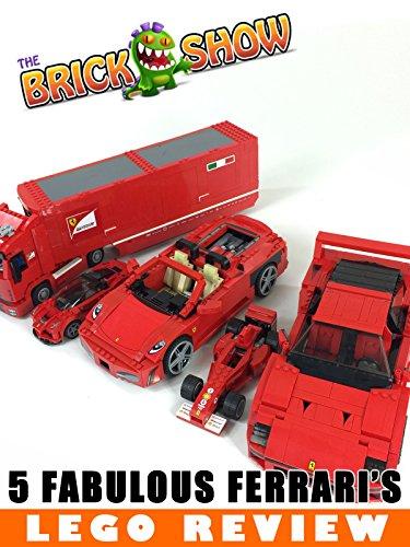 5 Fabulous LEGO Ferrari's!
