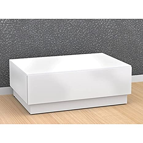 Contemporary Coffee Table with Enclosed Storage FMP25148
