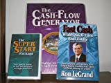 img - for The Cash Flow Generator (6 Cassettes) with The Super Start Package (4 Cassettes) and Fast Cash With Quick-Turn Real Estate (Paperback Book) book / textbook / text book