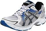 ASICS Men's Gel-1170 Running Shoe,White/Black/True Blue,14 2E US
