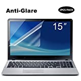 [2PCS PACK] 15.6-Inch Laptop Anti Glare Screen Protector, FORITO Notebook Computer Anti-Glare Screen Guard Protector for HP/DELL/Asus/Acer/Sony/Samsung/Lenovo/Toshiba, Dispaly 16:9 (2-Pieces/Pack)