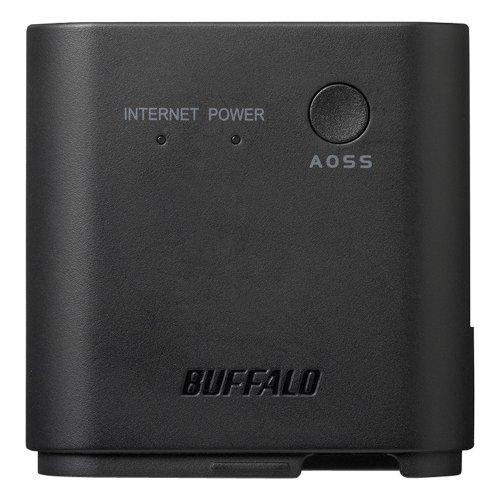 BUFFALO 11n/g/b 300Mbps 無線LAN親機 ブラック WMR-300/S