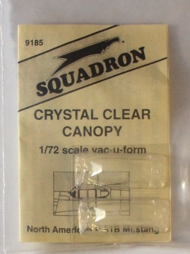 Squadron Products P-51B Vacuform Canopy