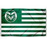 CSU Rams Stars and Stripes Nation College Flag
