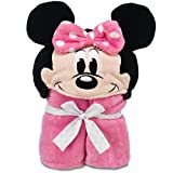 Disney Deluxe Minnie Mouse Hooded Towel for Baby Toddlers Boys Clubhouse