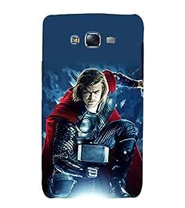printtech Superhero Avengers Back Case Cover for Samsung Galaxy J2 / Samsung Galaxy J2 J200F