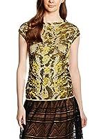 M Missoni Camiseta Manga Corta (Beige / Amarillo)