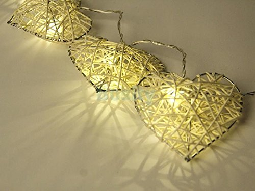 New 10LED Assorted Shaped LEDs Battery Operated String Lamp Fairy Lights Wedding Decors