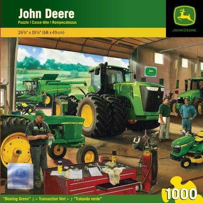 Masterpieces John Deere Dealing Green Jigsaw Puzzle, 1000-Piece