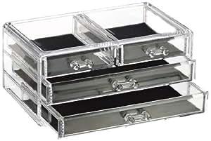 Glam Jewellery Box 4 Drawer