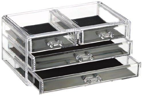Glam Portagioie con 4 cassetti