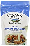 Organic Valley Organic Nonfat Dry Milk Powder, 12 Ounce Bag