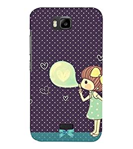 Fuson 3D Designer Mobile Back Case Cover For Huawei Y5c / Huawei Honor Bee / HONOR BEE