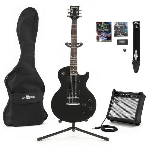 Electric-GB II Guitar + Complete Pack Black