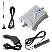 Car Bus Boat Truck 55db 2G GSM/3G 850MHz Mobile cell phone signal booster repeater Amplifier with Antennas