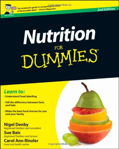 Nutrition For Dummies front-548810