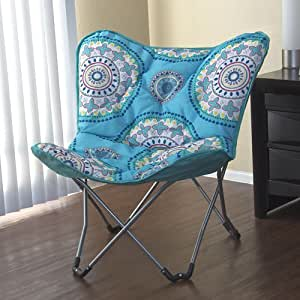 Padded butterfly lounge chair dorm room - Amazon bedroom chairs and stools ...