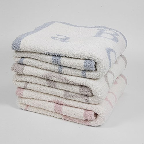 Barefoot Dreams ABC Blanket, Ocean