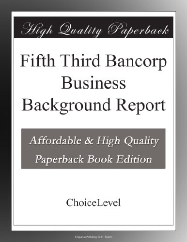 Buy Fifth Third Bancorp Now!