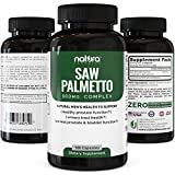 Pure Saw Palmetto Capsules For Prostate Health | Best Natural Herbal DHT Blocker Supplement to Fight Hair Loss | Extract & Berry Powder Complex To Reduce Frequent Urination | 100 Capsules