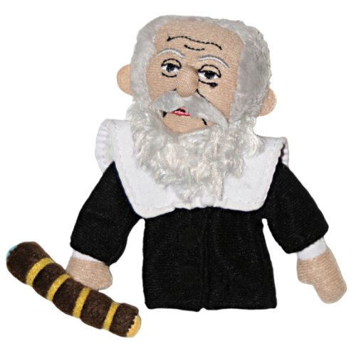 Galileo Galilei Finger Puppet and Refrigerator Magnet - By The Unemployed Philosophers Guild