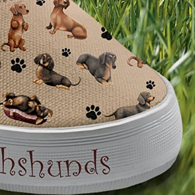 Choose Your Dog Breed Women's Sneakers: Playful Pups by The Bradford Exchange