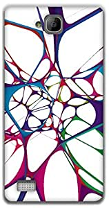 The Racoon Grip color web hard plastic printed back case / cover for Huawei Honor 3C