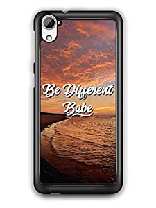 YuBingo Be Different Babe Designer Mobile Case Back Cover for HTC Desire 826