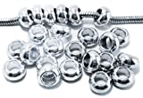Timeline Trinketts Charm Bracelet Beads Fits Pandora Jewelry Starter Spacers - Silver and Platinum
