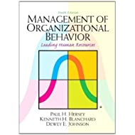 Management of Organizational Behavior (10th Edition) 10th (tenth) Edition by Hersey, Paul, Blanchard, Kenneth...